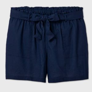 Ava & Viv linen shorts NWT